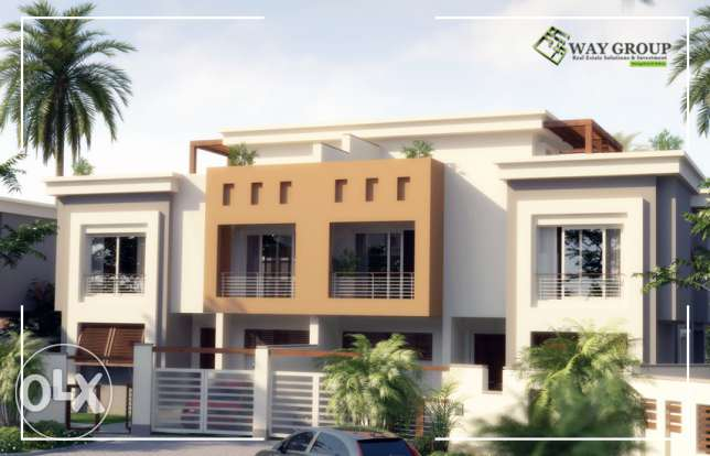 Twin House Villa in Cairo Festival City for sale