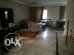 Twinhouse for rent in compound Greens توين هاوس مفروش بكمبوند جرينز