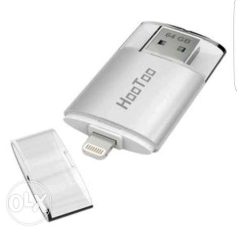 Flash memory to iPhone