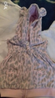 Carters fleece vest size 3m - 9m