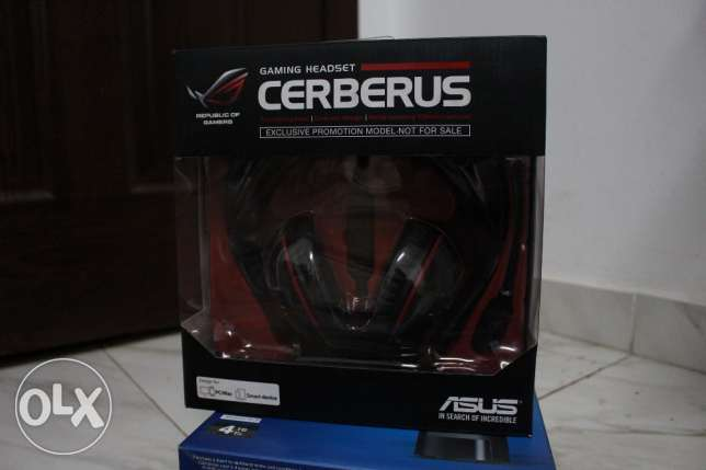 Asus Cerberus Gaming Headset جديد متبرشم