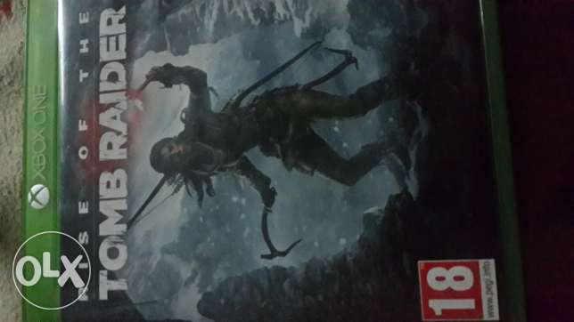Rise of tomb raider CD Xbox One