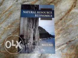 Natural resources economics