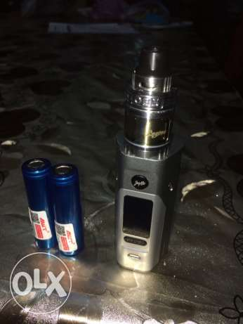 vape wismec rx 2/3 +tank ops engine +2 battery awt