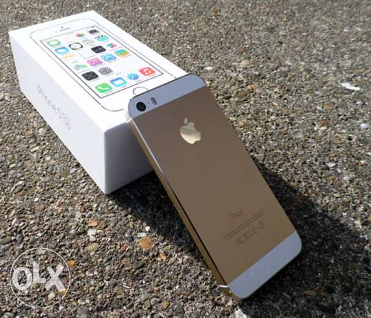 Iphone 5s Gold is new 32GB International USA القاهرة - أخرى -  1