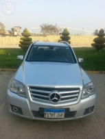 GLK 300 silver with black interior as new