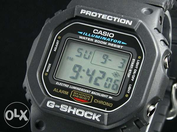 Casio DW-5600E-1VDF G-Shock Rare Watch New وسط القاهرة -  4