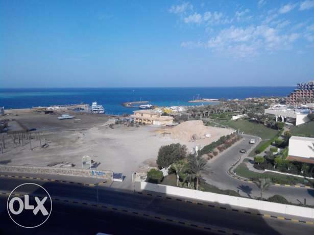 Studio with Sea View Front of Hilton Plaza Hotel, Hurghada الغردقة -  3