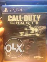 call of dutty ghosts almost new ps4