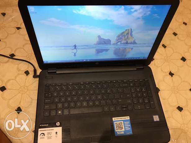 for sale hp laptop 15inch touch screen (intel 6th i5 gen) used 2 month شيراتون -  3