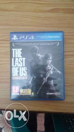 The last of us like new for PS4