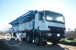 MERCEDES BENZ PUTZMEISTER M 52/5 / Actros 5050/5 axles 2006