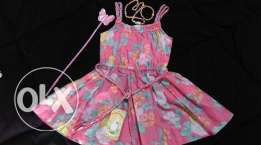 pink dress size 2T new