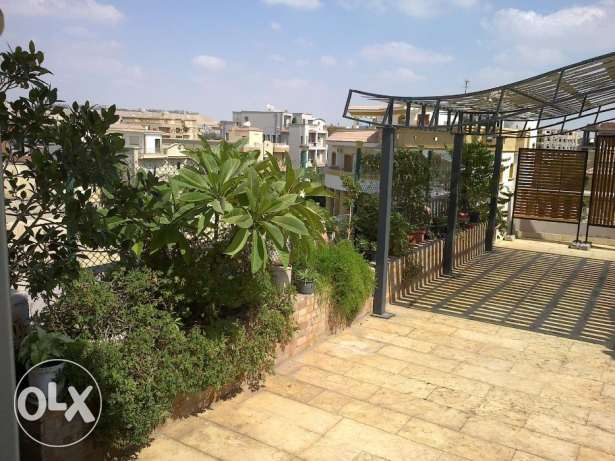 Spacious roof garden flat in El Ubour 6 division
