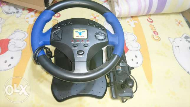 Driving Wheel PS2 and PC