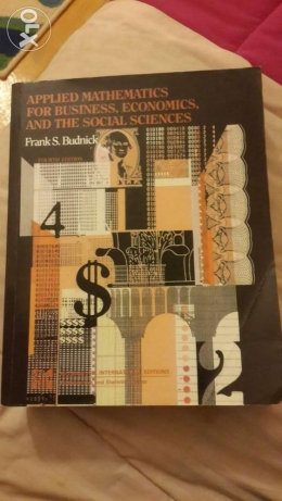 Applied Mathematics for Business, Economics, and the social sciences الهرم -  1