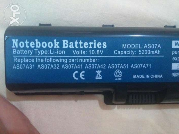 Acer 4710 Laptop battery