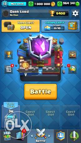 Clash Royale Hacked Account