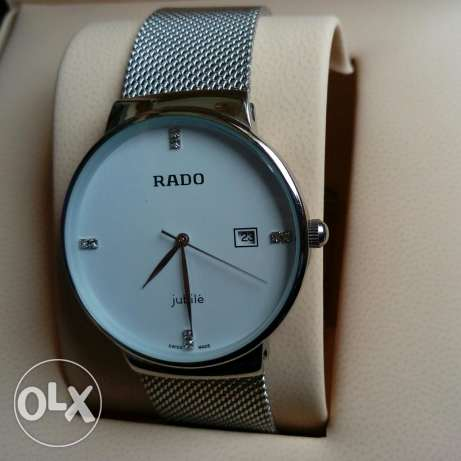 Rado jubile silver watch white dial