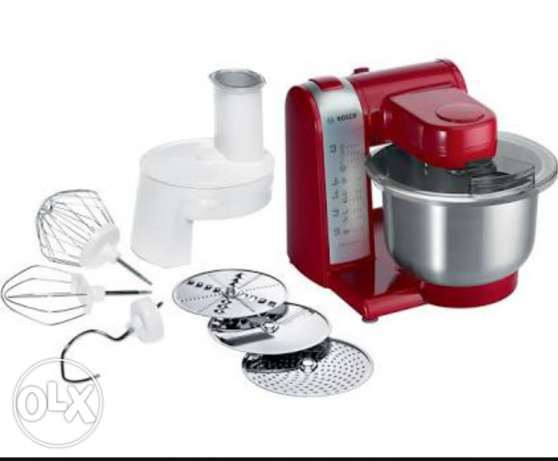 Bosch Kitchen Machine/Universal Food Processor عجانة هدية لشهر رمضان