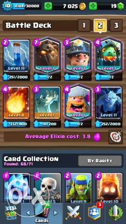 clash royale arena 10 8 legendaries