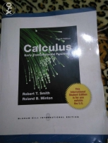 Calculus by robert t. Smith and roland b. Minton fourth edition
