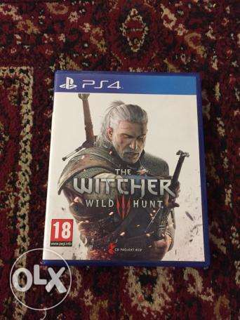 watcher 3 ps4 like new