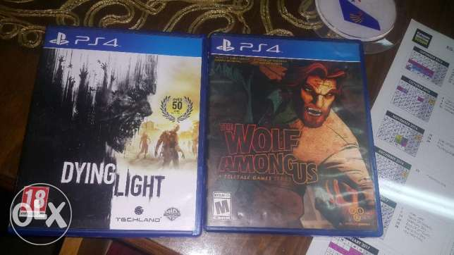 The wolf moung us and dying light