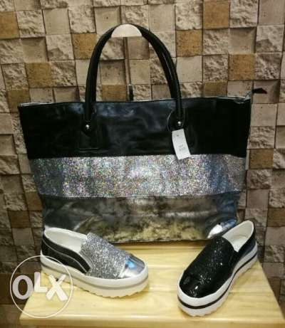 Leather bag wiz strass available now for summer bags collection