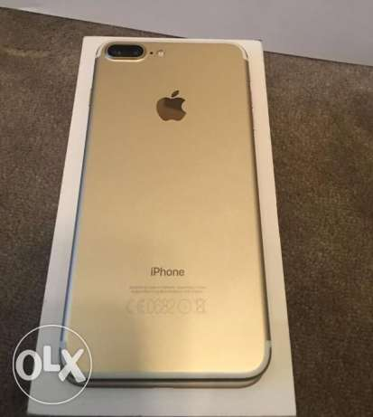 iPhone 7 plus 32 giga gold