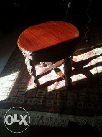 very old table with nice oyma 50 x50