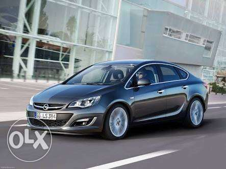 I need Opel astra 2013 or 2014 high condition