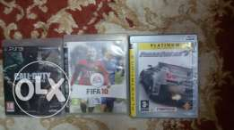 Play station 3 with 3 ps3 games