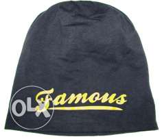 Men's beanie (dark blue)