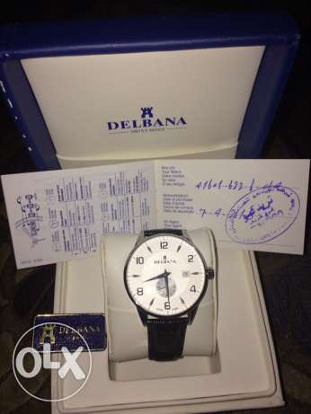 Delbana Men's Watch Swiss Made