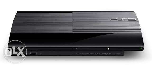 Ps3 super slim بلايستيشن 3