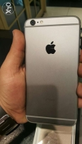 IPhone 6 plus 16 giga space grey with box original accessories like ne