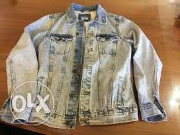 Men's jeans jacket from pull and bear