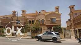Twin house Les Rois compound new Cairo fully finished super lux ready