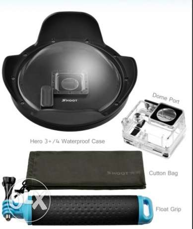 "Dome Port 6"" For GoPro Hero 4 Silver and Black"