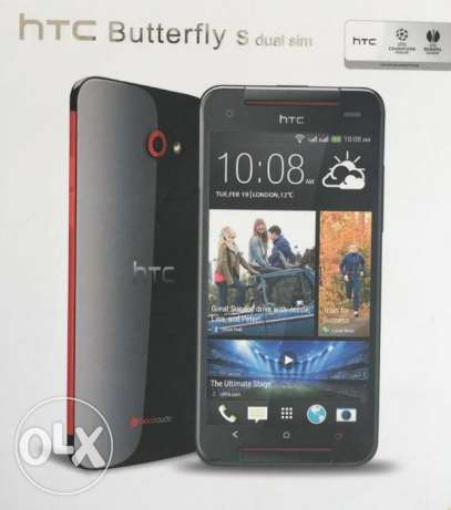 Htc Butterfly S Dual Sim 4G As New