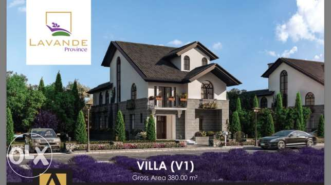 villa with lakes view 10% down payment 13y installment