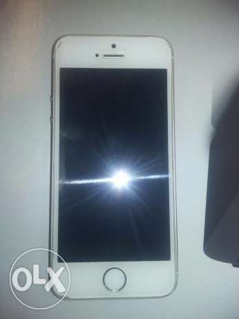 iphone 5s gold with good condition