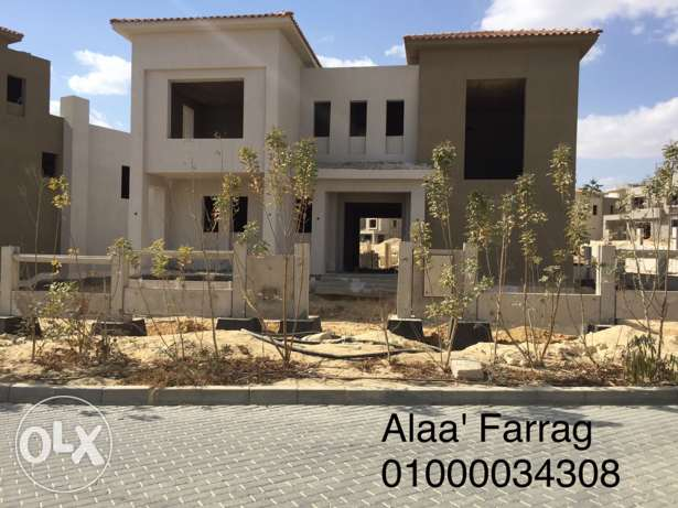 For sale, separate villa in Golf Extension Palm Hills