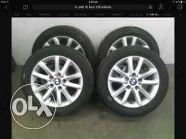 BMW E46 325i original wheels