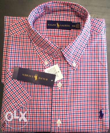 Ralph Lauren shirt short sleeves from USA وسط القاهرة -  1