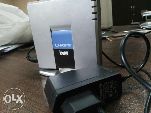 LinkSYS VoIP phone adapter