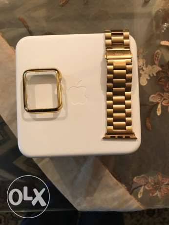 Band for Apple Watch 42mm Gold