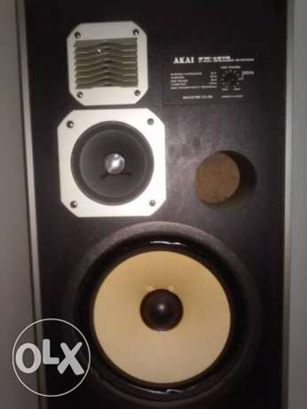 AKAI SW-137s Speakers