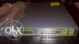 CISCO WS-C3750G-24 Layer 3 Switch 10/100/1000